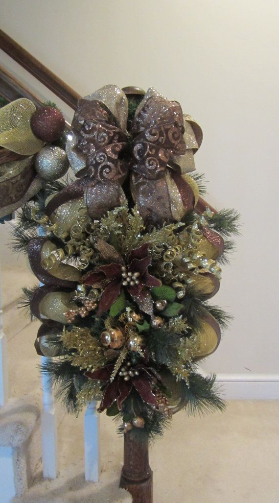130 best swags garlands etc images on pinterest advent for Elegant christmas decorations for sale