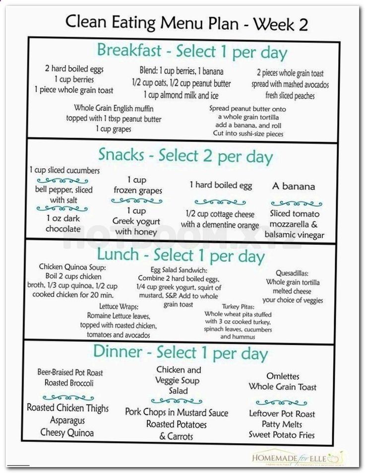 Best 25+ 2 week diet plan ideas on Pinterest Pcos meal plan - weekly meal plan