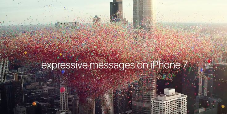 #iladies Apple's latest iPhone 7 ad brings iOS 10 'happy birthday' balloons in Messages to life #applenews