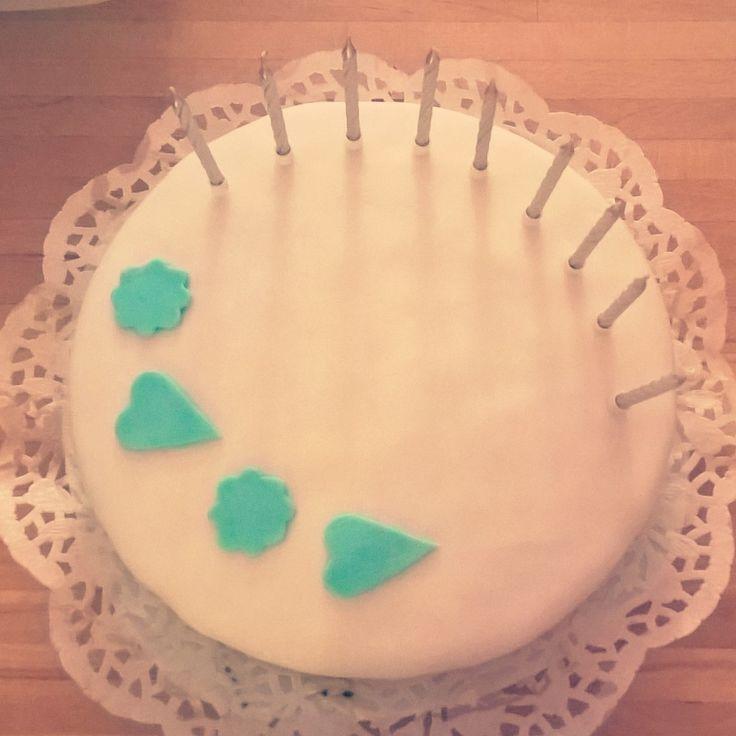 Birthday cake / white chocolate heaven