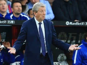 Crystal Palace boss Roy Hodgson content with Wilfried Zaha substitution