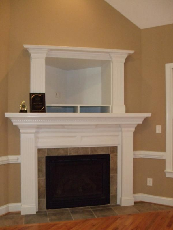 13 best How to hide components on fireplace images on Pinterest : tv above fireplace too high : Fireplace Design