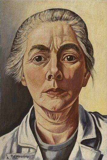Charley Toorop, Self-portrait (1954), Kröller-Müller Museum