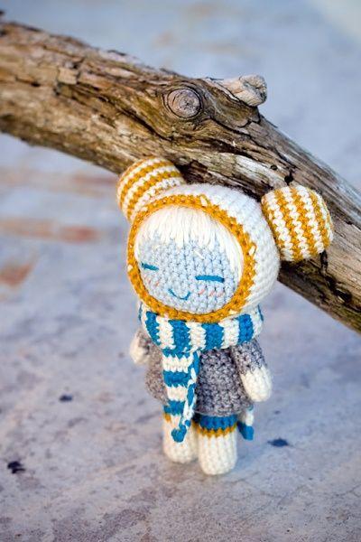 Blue and Yellow Handmade Amigurumi, FreeMinds.