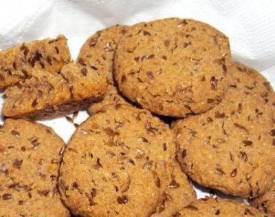 Blog das Seis: Caderno de Receitas - Biscoitinhos de linhaça