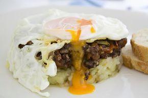 e-cocinablog: huevos con morcilla