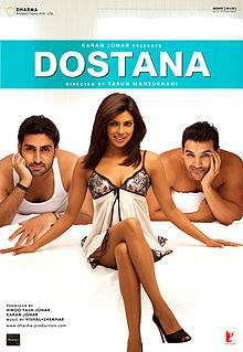 Dostana! I talk a little about this Bollywood RomCom with fun music and campy comedy. SO FUN! #want