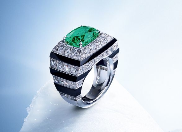 Cartier - 2015 Winter Collection- LOVE this ring.