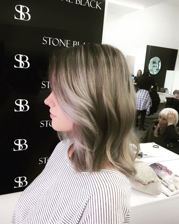 Soft ash blonde balayage working with wella colour. Need a colour change ? Visit our salon in Melbourne and have one of our passionate and experienced colourists work their magic.