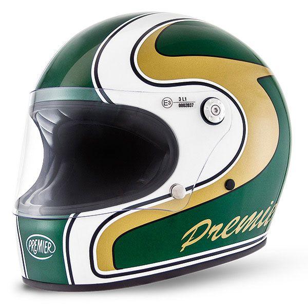 Premier Trophy helmet - green