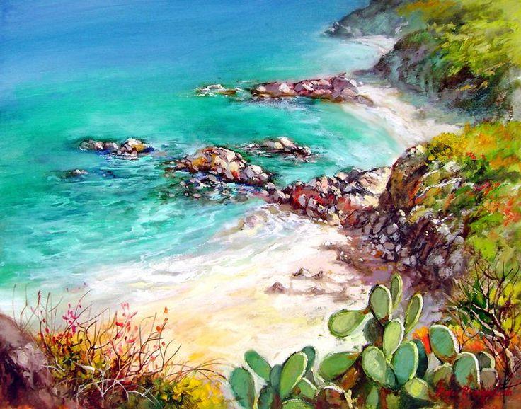 la costa del mediterraneo ~ Francesco Mangialardi