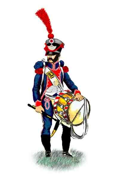 Frankfurt am Main Drummer, possibly of the Grenadier Company