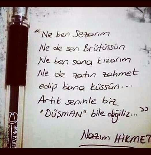 NAZIM HİKMET...
