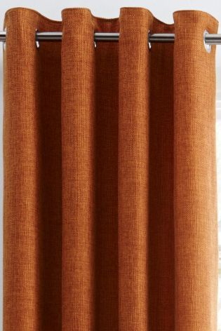 17 best ideas about Orange Eyelet Curtains on Pinterest | Modern ...