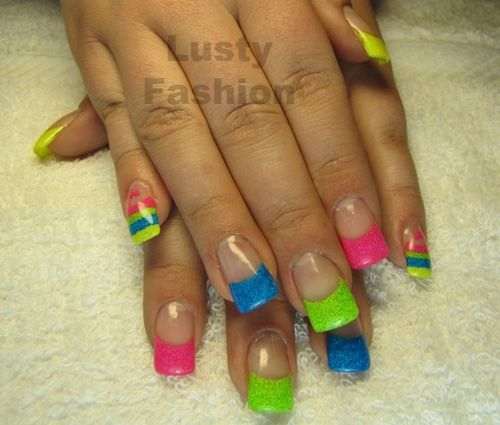 Bright Nail Art Design Ideas: 74 Best Images About Nails On Pinterest