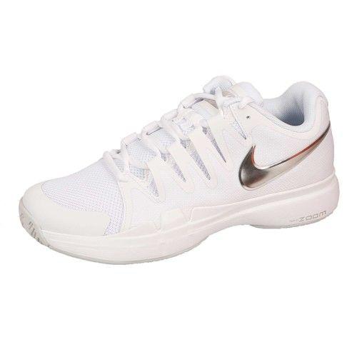 Nike Tennisschoenen (Allcourtschuhe) Air Zoom Vapor 9.5 Tour Dames - Dames white/metallic silver