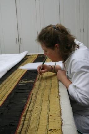 Textile conservation blog