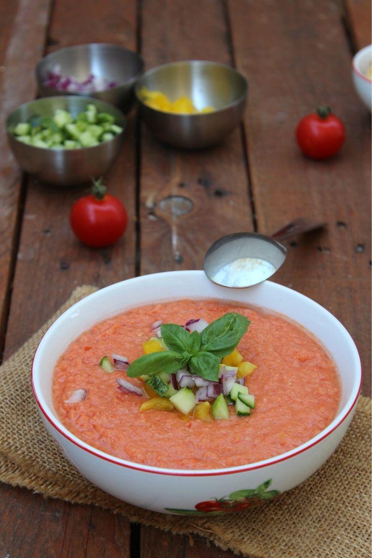 Risultati immagini per immagine gazpacho al pomodoro