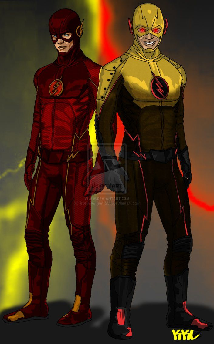 The flash and the reverse flash the flash pinterest for Find and design tv show