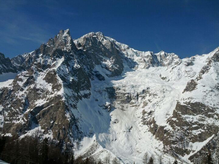Courmayeur nel Aosta, Valle d'Aosta