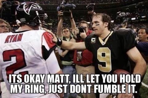 Saints vs Atlanta