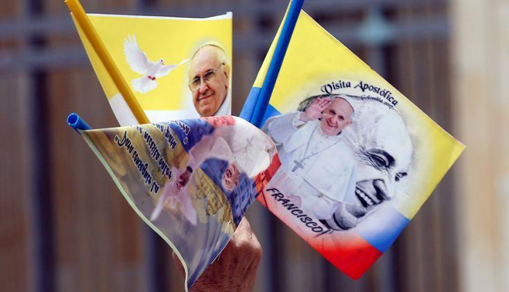 El papa envía mensaje a colombianos; les pide tratarse como hermanos - Noticieros Televisa