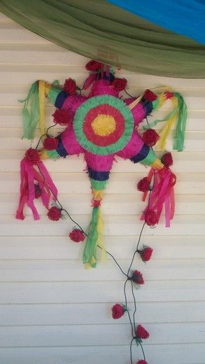 Look at the COLORS! Frida Mexican heritage culture flowers art craft kids girls birthday party... many pictures :)