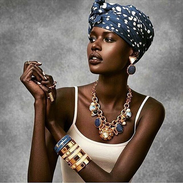 Nubian goddess. Via @ajak_deng  #beautiful #nubianqueen #sudanese #nubian #pretty #cute #love #gorgeous #chic #potd #photooftheday #tbt #trendy #africanfashion #instadaily #styleinspiration #africangirl #headwrap #turbanista #like4like #melanin #jewelry #makeup #necklace #flawless #model #skin #fashion #lifestyle #portrait