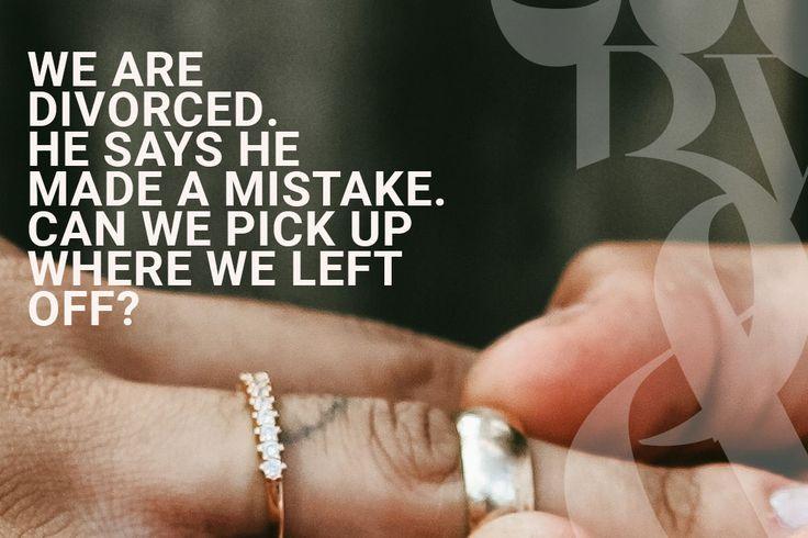 We got divorced. He wants to try again. – Bella Vida