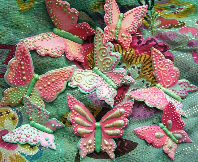 how to make royal icing butterflies
