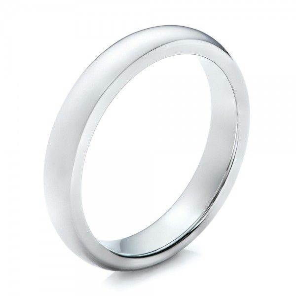 Skinny White Tungsten Men's Wedding ring | Diamond Corporation South Africa