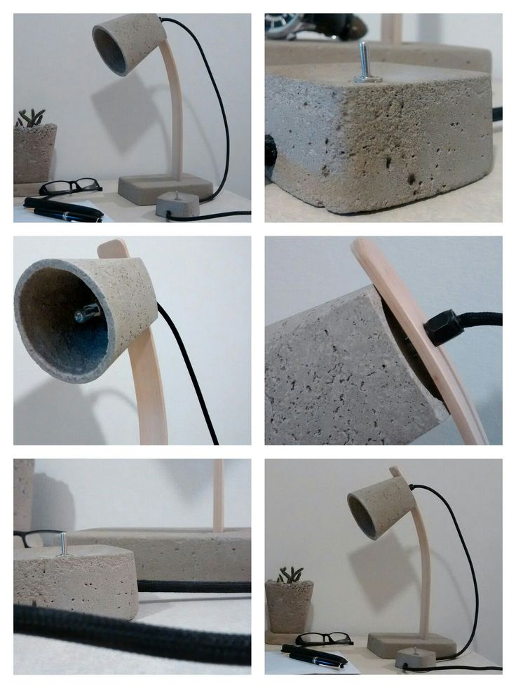 M s de 1000 ideas sobre muebles de concreto en pinterest - Lamparas para leer libros ...