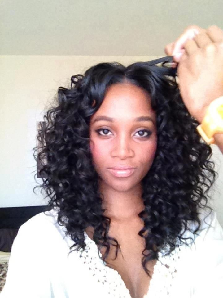 Crochet Braids Remy Hair : hair french wave remi 14 amp 12 the color is 1b weave hairstyles http ...