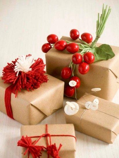 Confezioni regalo di Natale fai da te, idee originali - Confezioni Natale idee decorazioni