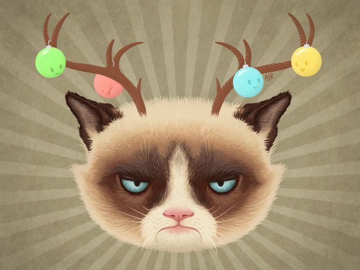 #GrumpyCat #FanArt For more Grumpy Cat stuff, gifts, and meme visit www.pinterest.com/erikakaisersot