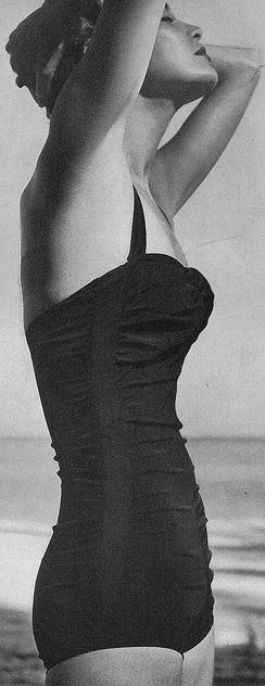 Swimsuit - Vogue 1950 I would kill for a swimsuit like this one