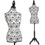 Free Shipping. Buy Ktaxon Female Mannequin Torso Clothing Dress Form Display Sewing Mannequin W/ Tripod Stand at Walmart.com