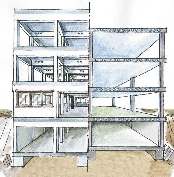 15 best images about construction technology 2 on pinterest home design columns and waffles - Connection between lifestyle home design ...