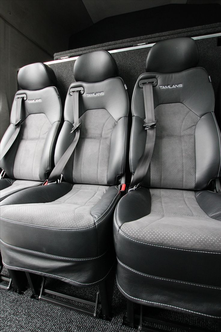 Mercedes-Benz Sprinter Tamlans Camping Van, Foldable Seats with Tamlans Upholstery