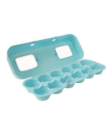 Look at this #zulilyfind! Blue Egg Carton Cupcake Carrier by Fox Run #zulilyfinds