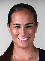 """Monica Puig Residence: Miami, FL, USA Date of Birth: 27 Sep 1993 Birthplace: San Juan, Puerto Rico Height: 5' 7"""" (1.70 m) Weight: 140 lbs. (64 kg) Plays: Right-handed (two-handed backhand) Status: Pro (September 2010)"""