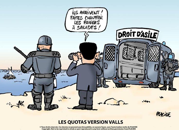 Placide (2015-05-18)  Migrants : Le droit d'asile selon Valls