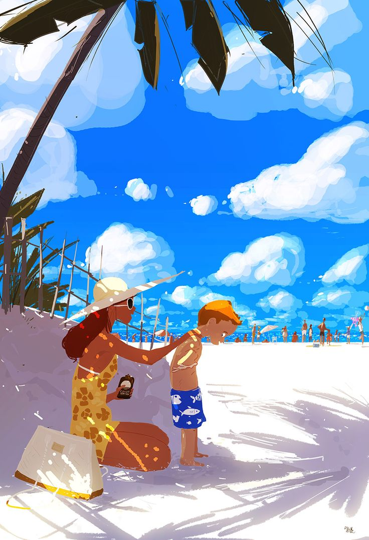 Life is a beach sometimes. Part two by PascalCampion.deviantart.com on @DeviantArt