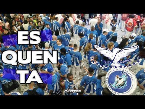 Portela 2017 - Bateria (Esquenta) - Salgueiro Convida - YouTube