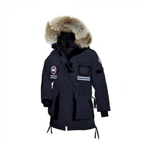 Outlet Kaufen Canada Goose Snow Mantra Parka Navy Damen Sale Online