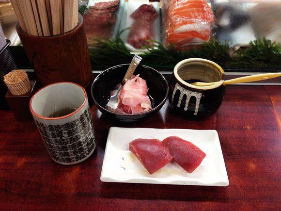 Fresh sushi for night owls at Osaka fish market's midnight restaurant