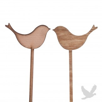 Rustic Decorative Wooden Birds With Stick (Set of 10) from koyalwholesale.com: Decor Birds, Ideas, Tables Numbersnam, Rustic Decor, Sticks Sets, 403308 Birds, Decor Wooden, Table Numbers, Wooden Birds