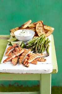As a real treat for guests, serve them up this salmon and asparagus crostini.