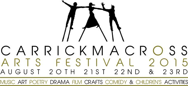 "Lineup looks great @Carrick_Arts Wishing  ""Carrickmacross Arts Festival August 2015"" great success"