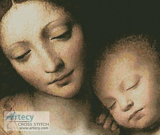 Madonna and Child 1 Counted Cross Stitch Pattern http://www.artecyshop.com/index.php?main_page=product_info&cPath=65&products_id=1229